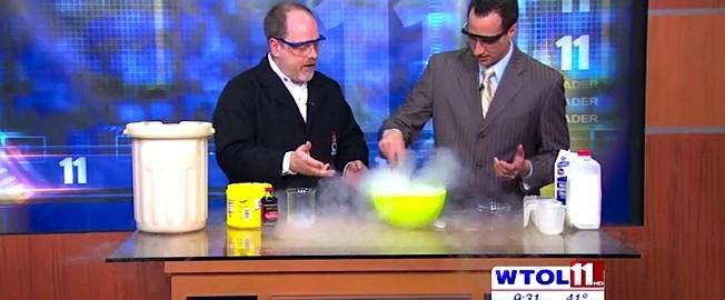 20111222 - WTOL - LN2 Ice Cream