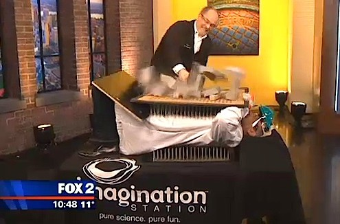 20140211 - WJBK - Bed of Nails
