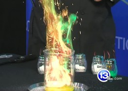 Chief Scientist Carl Nelson talks about what gives fireworks their colors